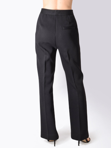 3.1 Phillip Lim Streamline High Waisted Tailored Pant in Black