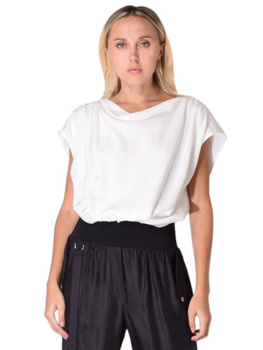 Cinq a Sept Adriana Top In White
