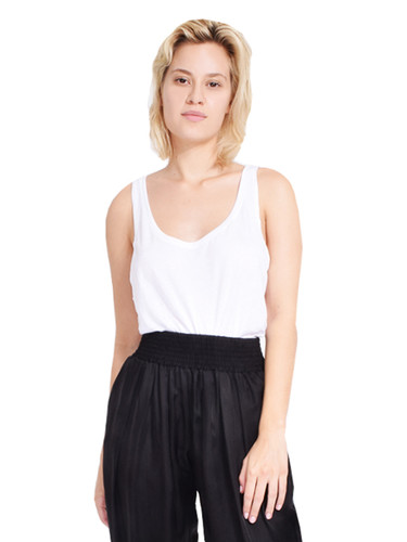 JET Rayon Boxy Tank in White Front View X1https://cdn11.bigcommerce.com/s-3wu6n/products/33186/images/109413/2__27782.1590178726.244.365.jpg?c=2X2