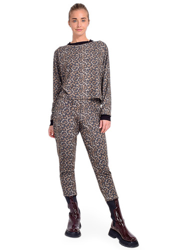 JET Leopard Track Pant Full Outfit