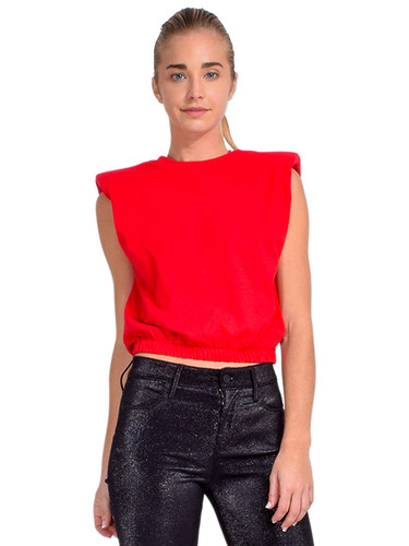 Alla Berman Charley Muscle Tee in Red Front View  X1https://cdn11.bigcommerce.com/s-3wu6n/products/33672/images/111611/DSC_0700_Full__59966.1608771193.244.365.jpg?c=2X2