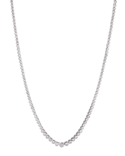 LUV AJ Rock Ballier Bezel Tennis Necklace in Silver Product Shot  x1https://cdn11.bigcommerce.com/s-3wu6n/products/33845/images/112533/Screen_Shot_2021-03-29_at_5.52.23_PM__57827.1617068229.244.365.png?c=x2