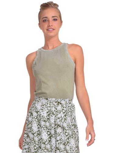 Cotton Citizen Standard Tank in Vintage Basil Front View  x1https://cdn11.bigcommerce.com/s-3wu6n/products/33969/images/113129/DSC_0730__23038.1620605555.244.365.jpg?c=2x2