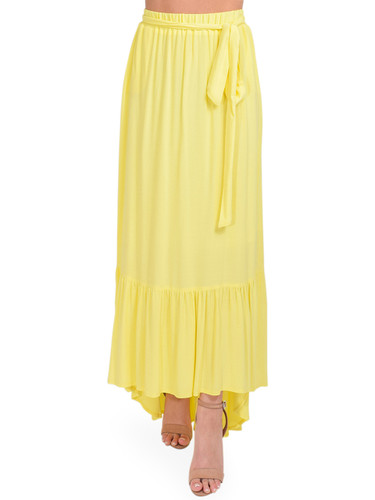 KASIA Sifnos Maxi Skirt in Yellow Front View  x1https://cdn11.bigcommerce.com/s-3wu6n/products/33978/images/113171/DSC_0401_Full__10414.1620695821.244.365.jpg?c=2x2