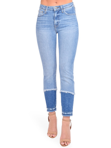River Straight Leg Jean in Cayucas Light Wash Front View