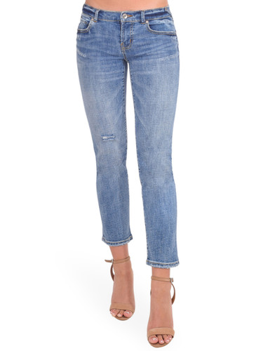 SERRA By Joie Rucker Smashing Low Rise Jeans in Rockpoint Blue Front View