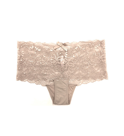 Samantha Chang Daily Lace Boy Short in Nude
