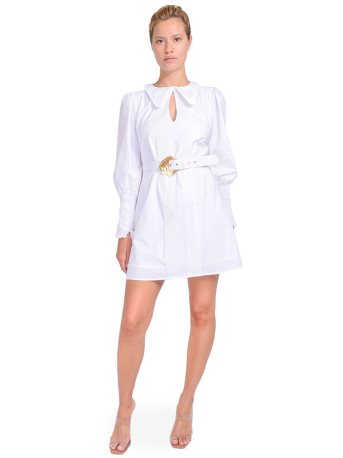 NICHOLAS Long Sleeve Dress with Collar Front View  X1https://cdn11.bigcommerce.com/s-3wu6n/products/33358/images/110213/1__18676.1597971258.244.365.jpg?c=2X2