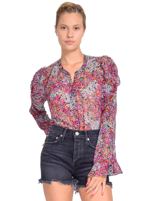 MISA Diana Top in Nazirah Floral Front View  X1https://cdn11.bigcommerce.com/s-3wu6n/products/33370/images/110281/6__78820.1599608295.244.365.jpg?c=2X2