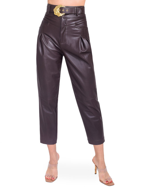 NICHOLAS Damia Pant in Cocoa Front View  X1https://cdn11.bigcommerce.com/s-3wu6n/products/33461/images/110630/69__92361.1602539257.244.365.jpg?c=2X2