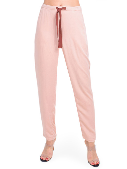 Bellerose Vael Pant in Pink Front View X1https://cdn11.bigcommerce.com/s-3wu6n/products/33548/images/111042/DSC_0793_Full__90043.1606080742.244.365.jpg?c=2X2