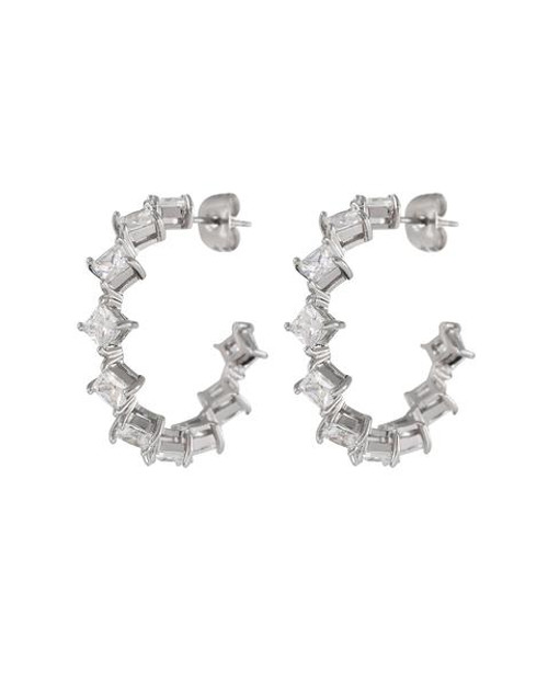 LUV AJ Princess Bijou Hoops in Silver Product Shot X1https://cdn11.bigcommerce.com/s-3wu6n/products/33614/images/111332/20200619-LUV-AJ-HOLIDAY-2020-LB_04_0257_grande__68036.1607390745.244.365.jpg?c=2X2