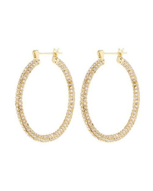 LUV AJ Pave Skinny Amalfi Hoops in Gold Product Shot X1https://cdn11.bigcommerce.com/s-3wu6n/products/33617/images/111338/20200619-LUV-AJ-HOLIDAY-2020-LB_01_0010-2_c575e62e-9d1b-4aeb-947e-1e88b96407d9_grande__58968.1607392276.244.365.jpg?c=2X2