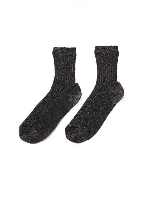Bellerose Metallic Socks in Black Product Shot  X1https://cdn11.bigcommerce.com/s-3wu6n/products/33623/images/111355/9__67721.1608159133.244.365.jpg?c=2X2