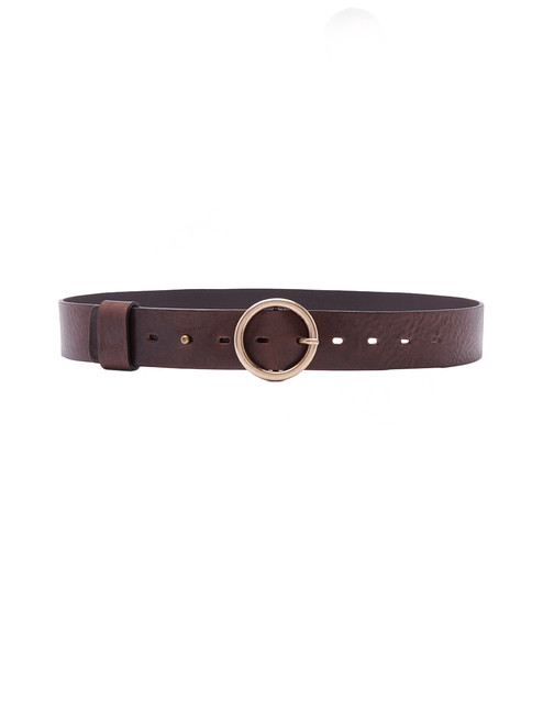 BA&SH Camus Belt in Marron Front View  X1https://cdn11.bigcommerce.com/s-3wu6n/products/33727/images/111887/Camu-2__65116.1611186450.244.365.jpg?c=2X2