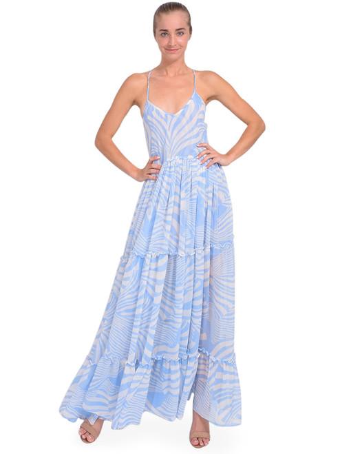 MISA Kalita Dress in Casablanca Blue Shell Front View 1 x1https://cdn11.bigcommerce.com/s-3wu6n/products/33744/images/112020/DSC_0377__12522.1614385242.244.365.jpg?c=2x2