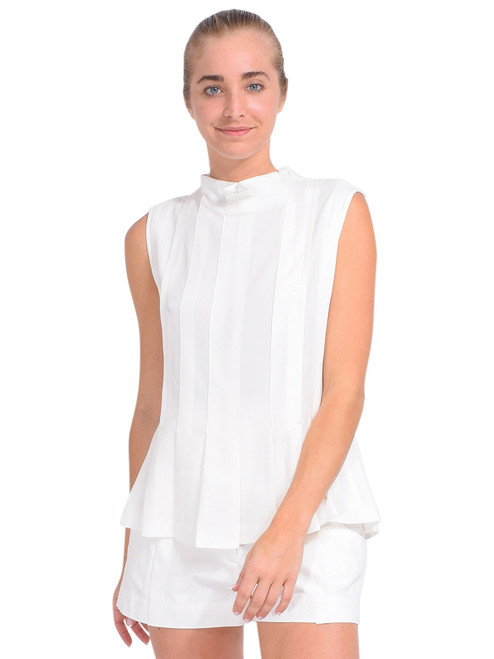 3.1 Phillip Lim Knife Pleat Tank in Ivory Front View x1https://cdn11.bigcommerce.com/s-3wu6n/products/33771/images/112113/DSC_0800_Full__18611.1614653865.244.365.jpg?c=2x2