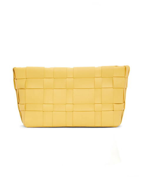 3.1 Phillip Lim Odita Lattice Pouch in Sunshine Front view  x1https://cdn11.bigcommerce.com/s-3wu6n/products/33784/images/112215/22__21523.1614825827.244.365.jpg?c=2x2
