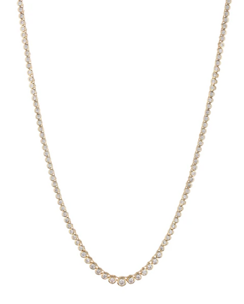 LUV AJ Rock Ballier Bezel Tennis Necklace in Gold Product Shot  x1https://cdn11.bigcommerce.com/s-3wu6n/products/33844/images/112526/Screen_Shot_2021-03-29_at_5.52.53_PM__74340.1617067839.244.365.png?c=2x2