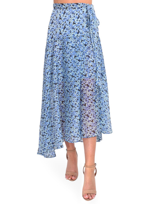 Sabina Musayev Chablis Wrap Skirt in Blue Floral Front View x1https://cdn11.bigcommerce.com/s-3wu6n/products/33882/images/112702/DSC_0301__57507.1618448249.244.365.jpg?c=2x2