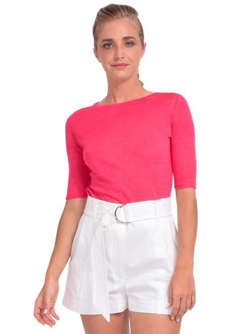 Bellerose Seas T-Shirt in Oeillet Front View  x1https://cdn11.bigcommerce.com/s-3wu6n/products/33916/images/112871/DSC_0931_Full__23192.1618880618.244.365.jpg?c=2x2