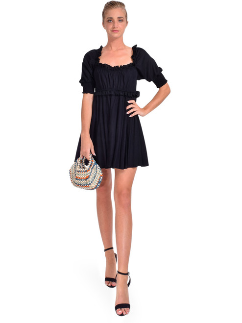MISA Ara Dress in Black Linen Front View x1https://cdn11.bigcommerce.com/s-3wu6n/products/33924/images/112916/DSC_0292__90698.1618886101.244.365.jpg?c=2x2