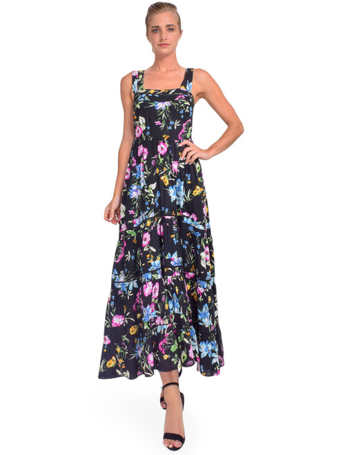 MISA Aurelia Dress in Linen Floral Allover Front View x1https://cdn11.bigcommerce.com/s-3wu6n/products/33925/images/112919/DSC_0202-2__16190.1618886156.244.365.jpg?c=2x2