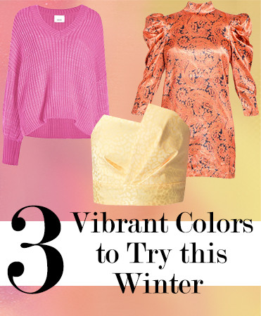 3 Vibrant Colors to Try this Winter