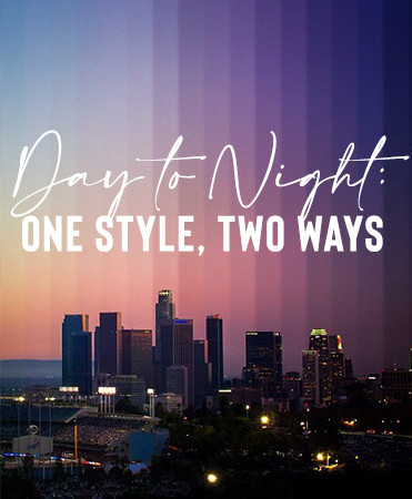 Day to Night: One Style, Two Ways
