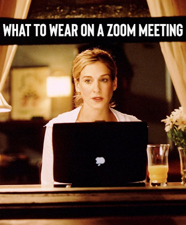 What to wear on a Zoom Meeting