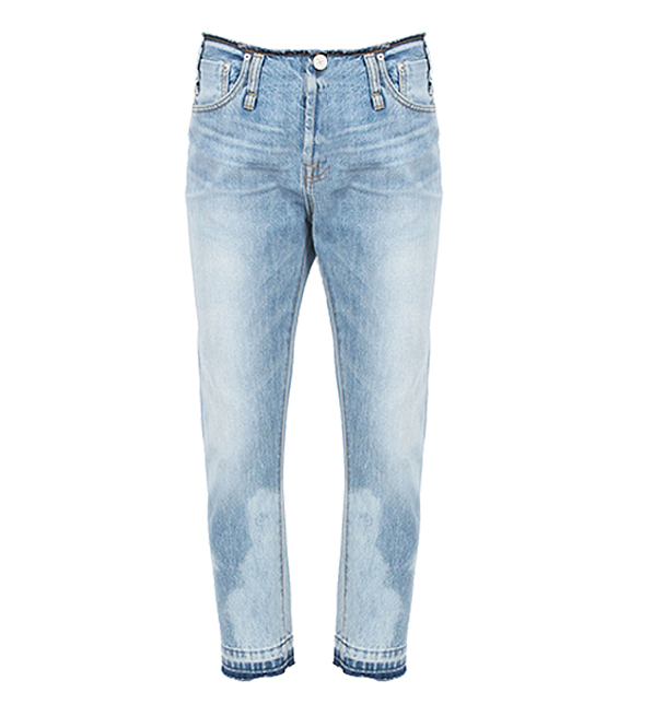 Calvin Rucker Waistless 'Baby Love' Light Wash Jeans