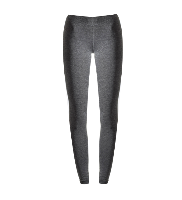 Patterson J Kincaid Ruched Leggings in Dark Grey