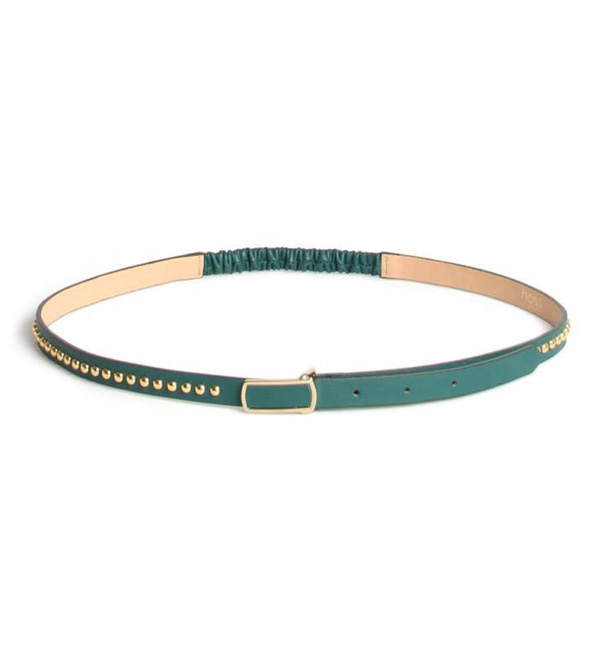 Green Studded Belt