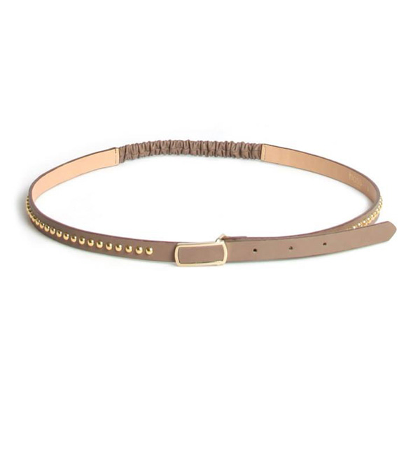 Tan Studded Belt