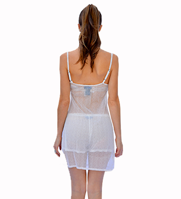 Ottad'Ame Abito Nightgown in White