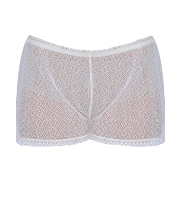 Ottod'Ame White Lace Night Shorts