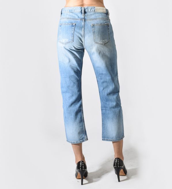 IRO Light Blue Distressed Denim
