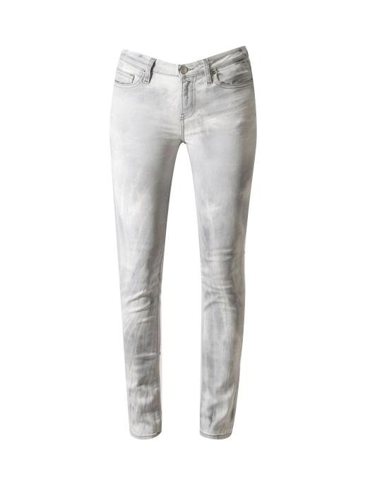 Cloudy White Niris Skinny Jean