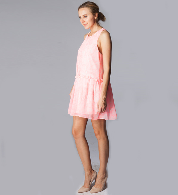 Likely Bayard Dress in Pink