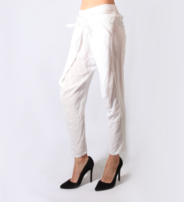 TryB212 Felicia Pant in Porcelain