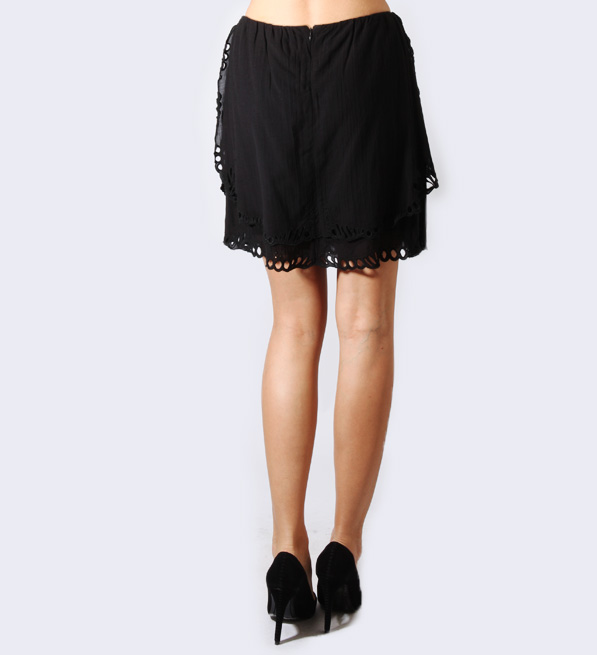 IRO Carina Skirt in Black