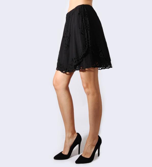 IRO Carina Skirt in Black