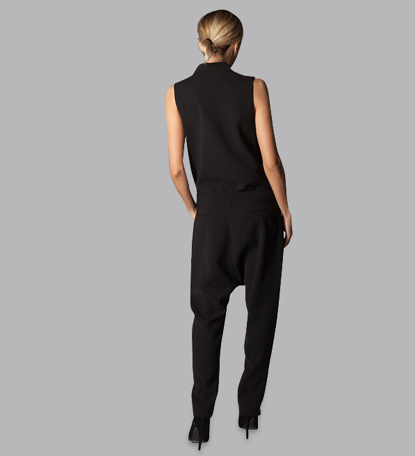 Camilla and Marc Jiro Jumpsuit in Jet Black