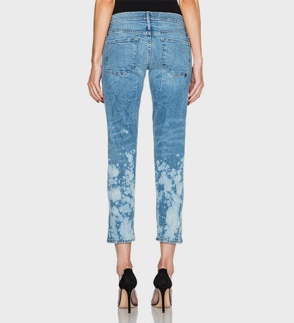 Calvin Rucker Back in Love Again Bleached Denim