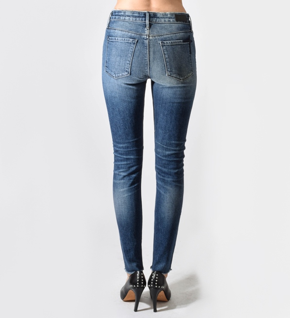 RTA High Waist Skinny Jean in Indie Wash