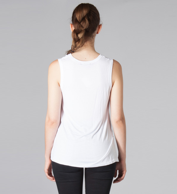David Lerner Baxter Tank in White