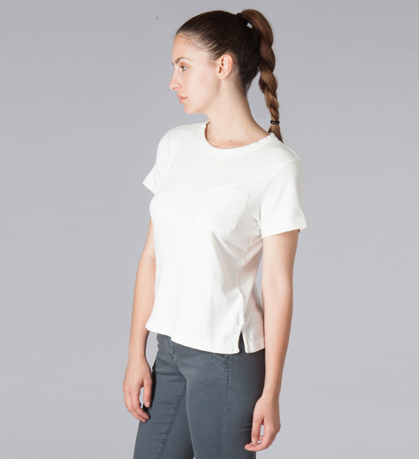Current/Elliott Ecru The Perfect T Shirt