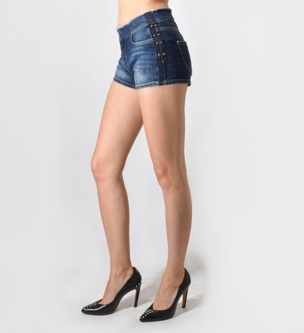 Intropia Frayed Shorts with Tacks