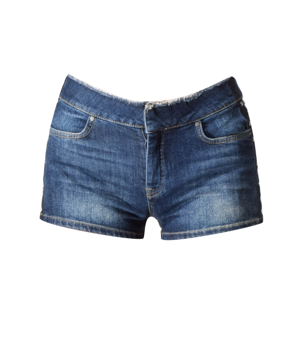 Intropia Frayed Shorts with Tacks