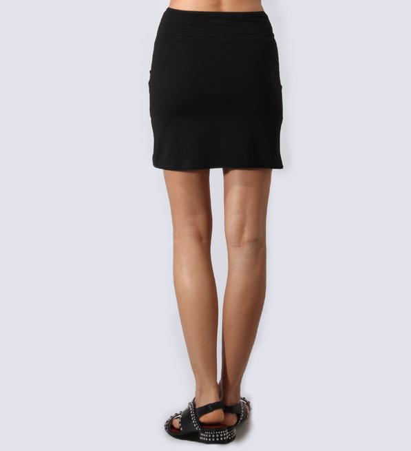 byTimo 40's Slip Skirt in Black
